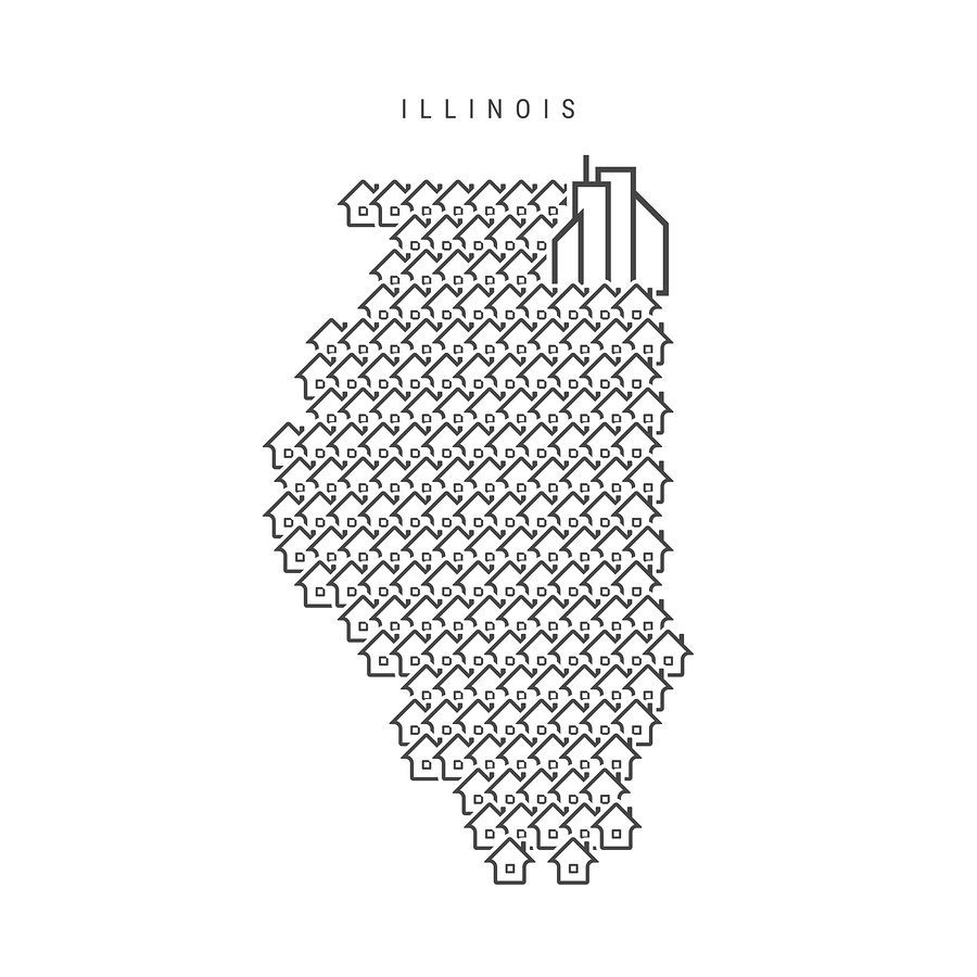 jurisdiction in Illinois divorce