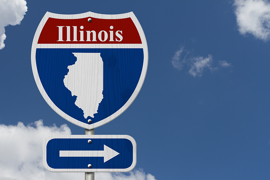 Moving a divorce case to Illinois