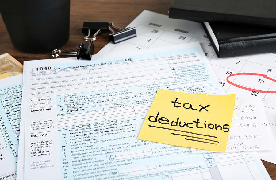 Tax Deductions In An Illinois DIvorce