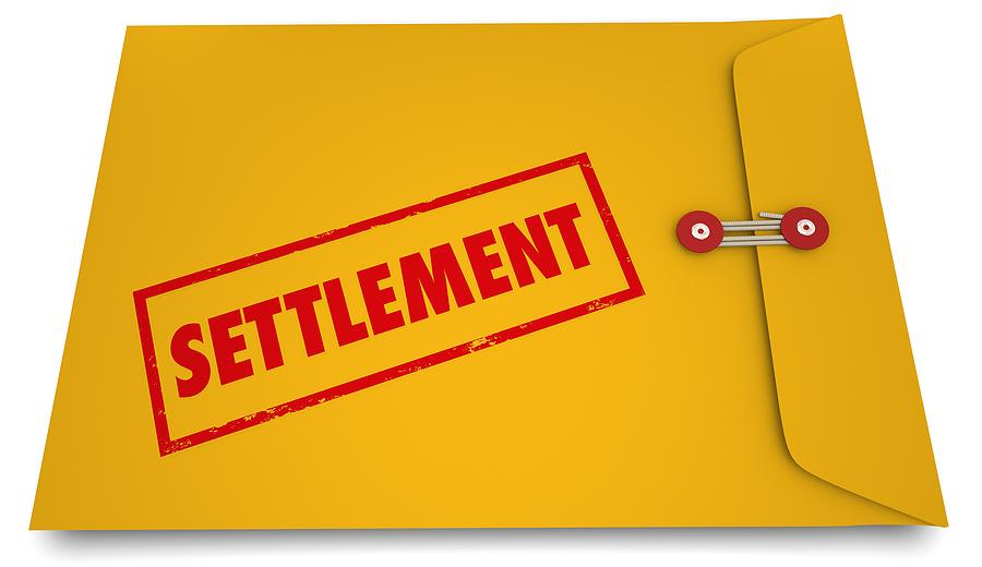 secret settlement offer