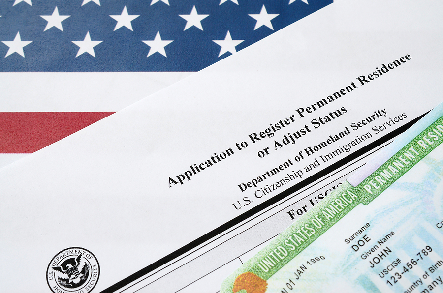 Permanent residency and divorce