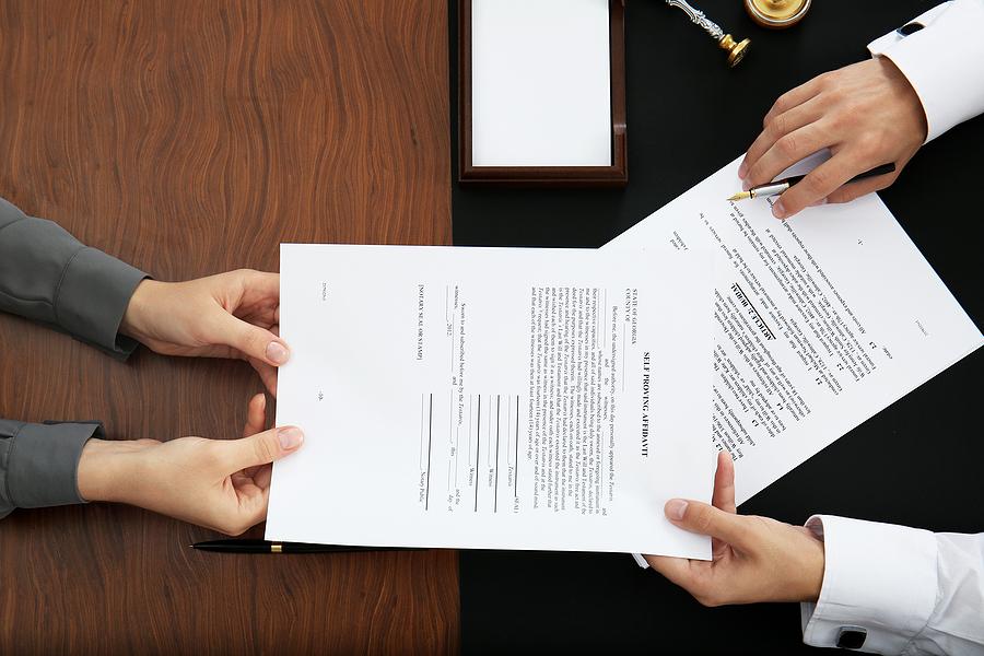 Inspecting Spouse's Financial Affidavit