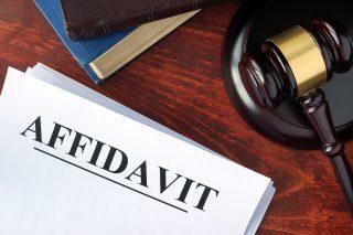 Affidavit In An Illinois Divorce
