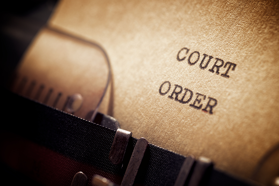 Court orders in an Illinois divorce