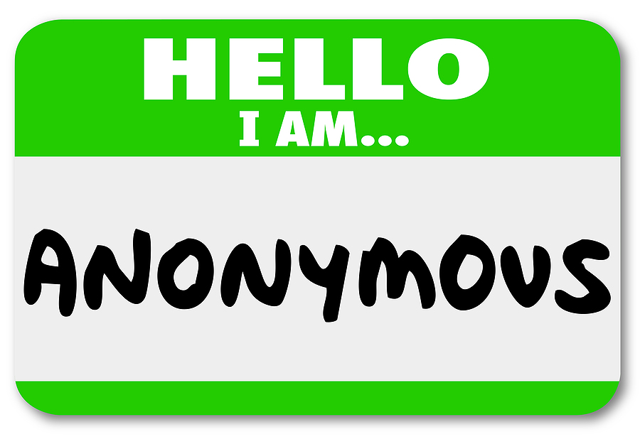 Anonymous names in an Illinois divorce