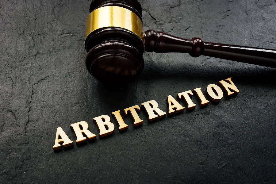 Arbitration clause in a prenuptial agreement