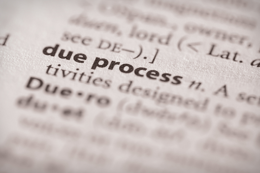 What Is Due Process In Illinois?