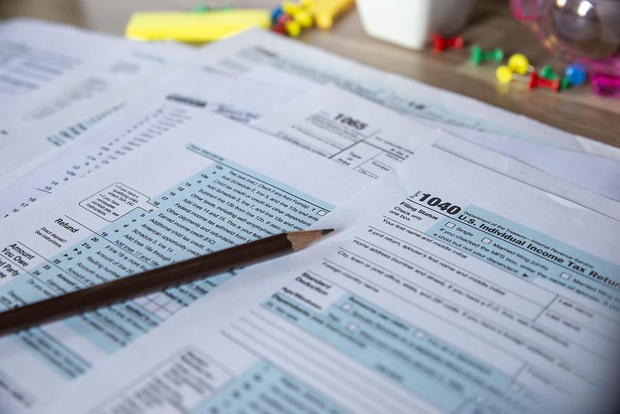 Tax returns in an Illinois divorce