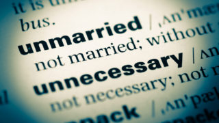 Unmarried couples and property division
