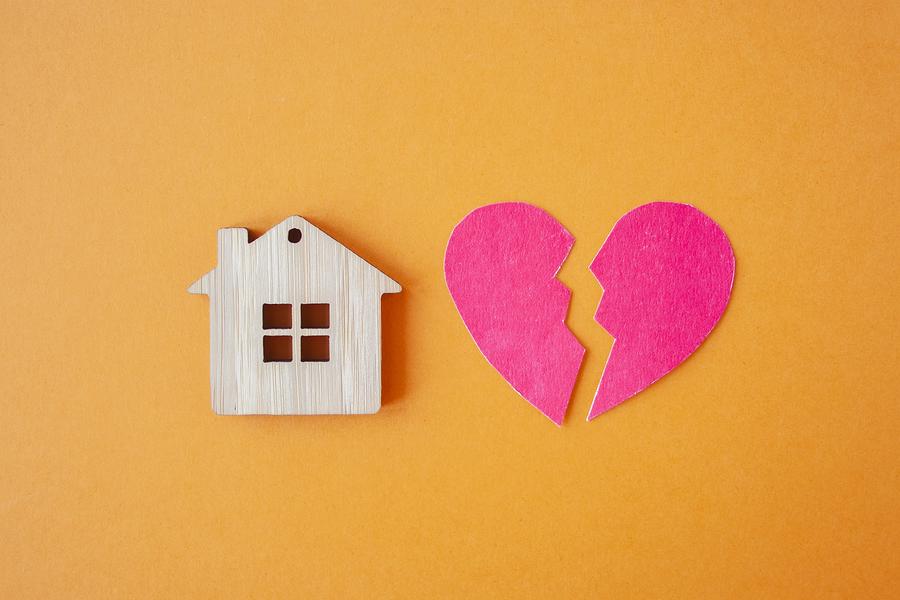 divorce and rent